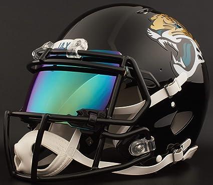 2788f63c Amazon.com : Riddell Custom Jacksonville Jaguars Full Size NFL Speed ...