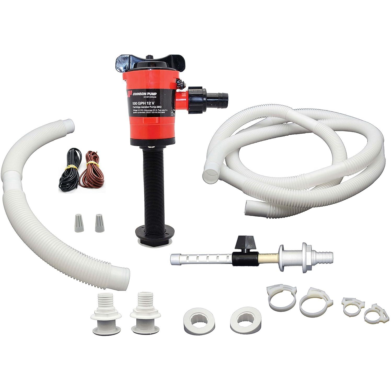 Johnson Pump 34014 Livewell Aerator Kit - 500 GPH