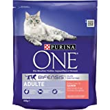 Purina One Adult Cat Salmon and Whole Grains, 800 gm