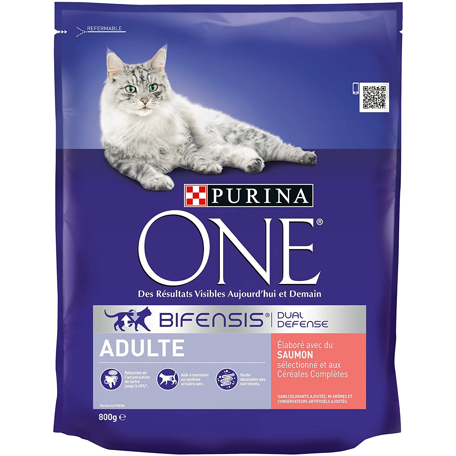 Purina One Light - au Poulet et au Blé - 1, 5kg - Croquettes pour Chat Adulte - Lot de 6 One Chat 558064