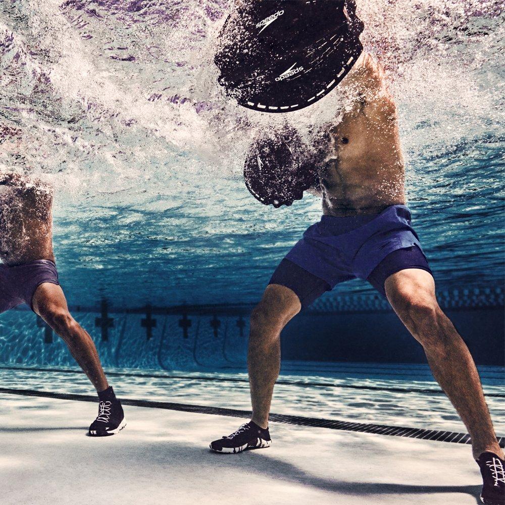 Navy//Grey 9H US Speedo Mens Fathom AQ Fitness Water Shoes