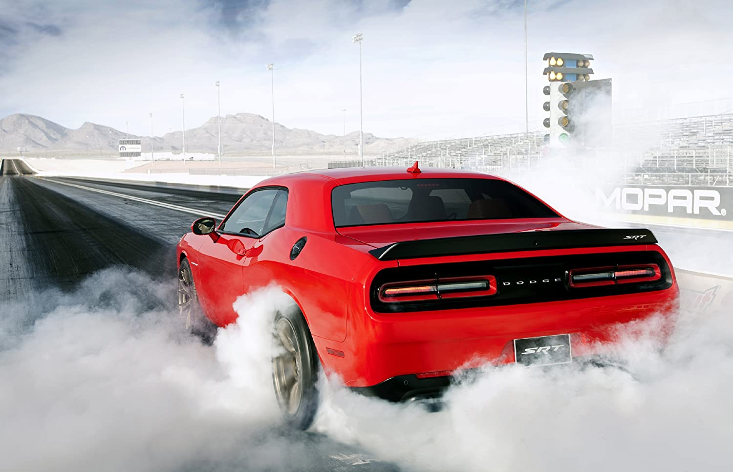 """Red Dodge Challenger SRT 42/"""" x 24/"""" LARGE WALL POSTER PRINT NEW"""