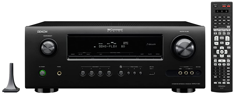 Amazon.com: Denon AVR2112CI Integrated Network AV Surround Receiver: Home  Audio & Theater
