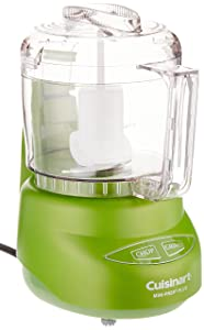 Cuisinart DLC-2AGRFR Mini-Prep Plus Food Processor, Green(Certified Refurbished)