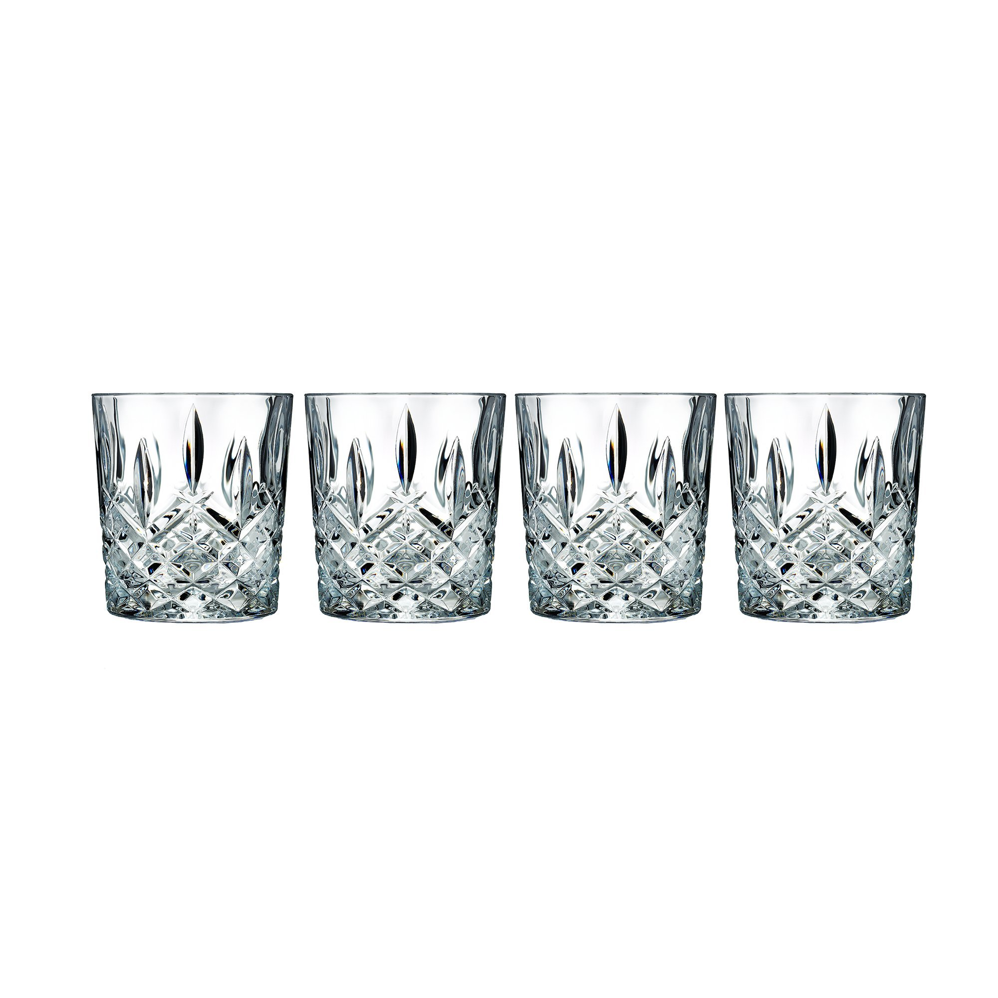 Marquis by Waterford 165118 Markham Double Old Fashioned Glasses, Set of 4 by Marquis By Waterford