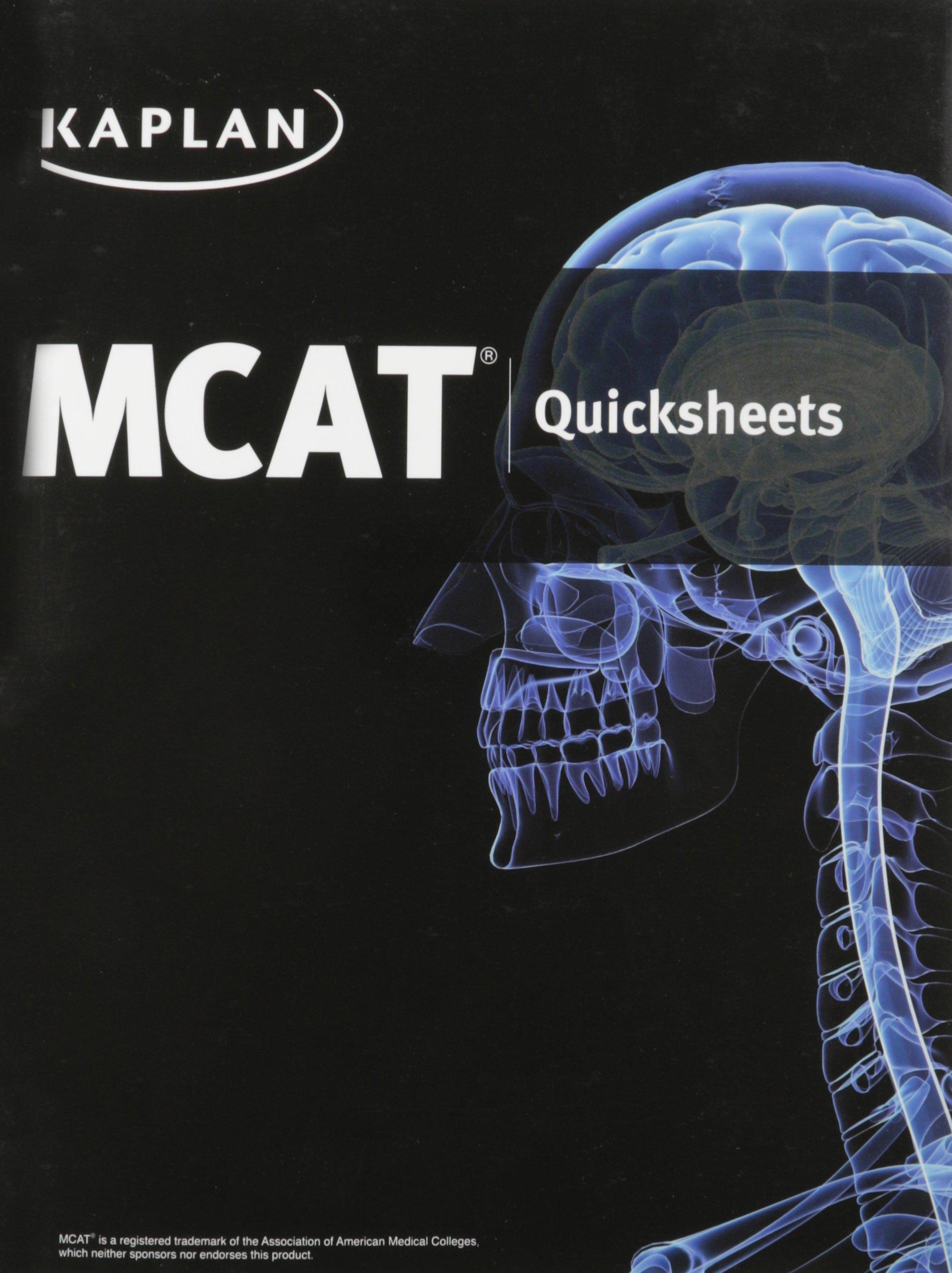 Kaplan Mcat Quicksheet Pdf