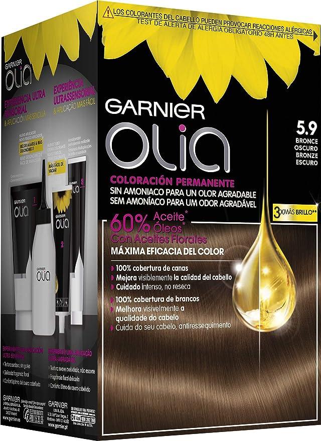 Garnier Olia Coloración Permanente sin Amoniaco, Agradable ...