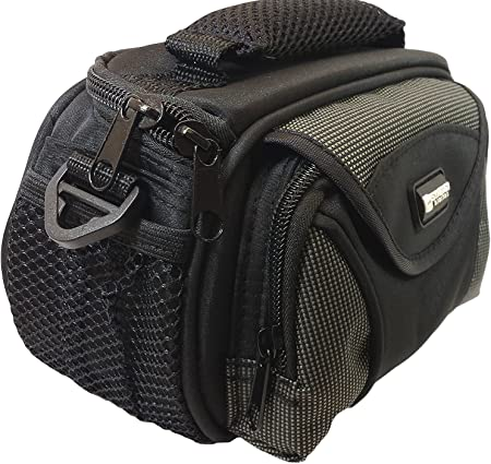 Navitech Purple Protective Portable Handheld Binocular Case and Travel Bag Compatible with The Nikon Sportstar EX 10x25 DCF with Belt and Shoulder Strap