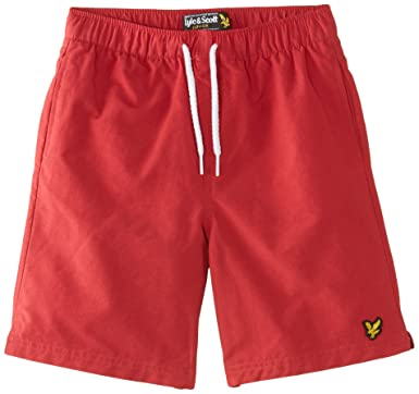 7d35b265a5057 Lyle & Scott Boy's Classic Plain Swim Shorts: Lyle And Scott: Amazon.co.uk:  Clothing