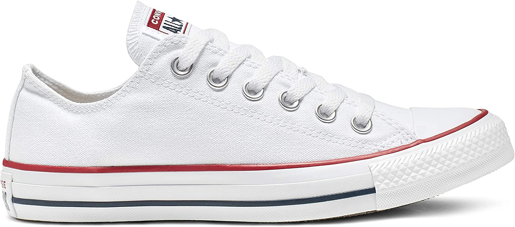M US Women // 8.5 D M 10.5 B Converse Unisex Chuck Taylor All Star Ox US Men, Optical White