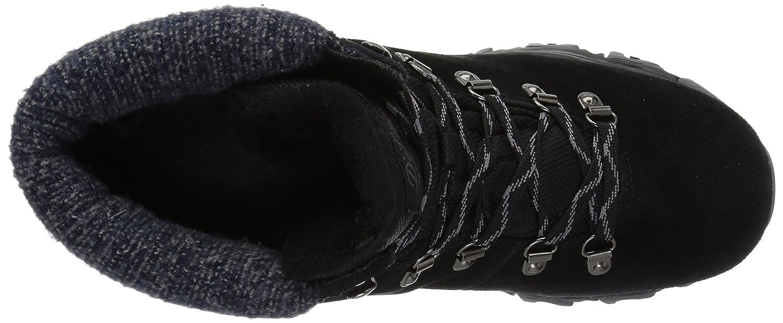Skechers Women's B01N17DDAX D'Lites-Short Lace up Winter Boot B01N17DDAX Women's 7.5 B(M) US|Black 7724b0