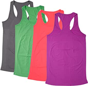 BollyQueena Women's Workout and Training Tank Shirts