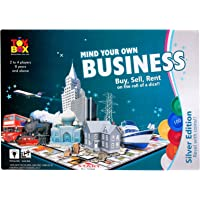 toyztrend Strategy Business Silver Game for Young Businessman to Build Their own World of Properties