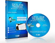Excel 2019 Training DVD by Simon Sez IT: Excel Tutorial For Absolute Beginners to Advanced Users – Excel Course Including Ex