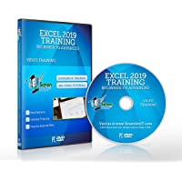 Excel 2019 Training DVD by Simon Sez IT: Excel Tutorial For Absolute Beginners to Advanced Users – Excel Course…