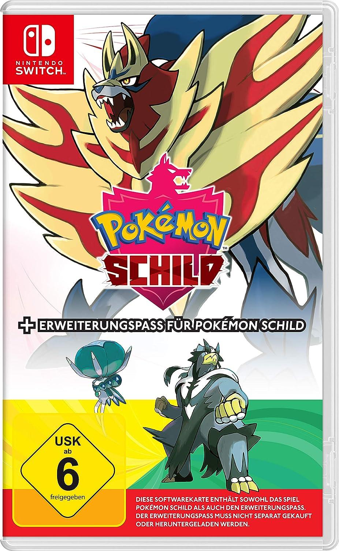 Pokemon Schild inkl. Erweiterungspass [Nintendo Switch]: Amazon.de: Games - Pokemon Schwert Erweiterungspass