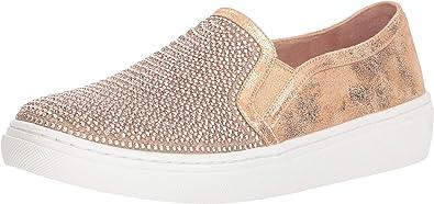 Himno usuario Monasterio  Amazon.com: Skechers - Zapatillas de deporte para mujer con diamantes de  imitación dorados y perlas: Shoes