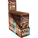 Quest Nutrition Protein Powder, Chocolate Milkshake, 23g Protein, 84% P/Cals, 0g Sugar, 2g Net Carbs, Low Carb, Gluten Free, Soy Free, 1.13oz Packet, 12 Count