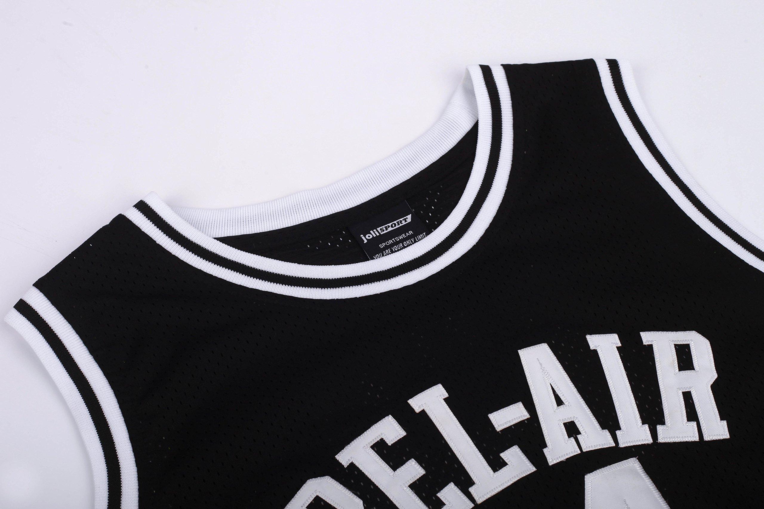 aa44f8d67be7 JOLI SPORT Smith  14 Bel Air Academy Black Basketball Jersey S-XXXL (Small)    Jerseys   Sports   Outdoors - tibs