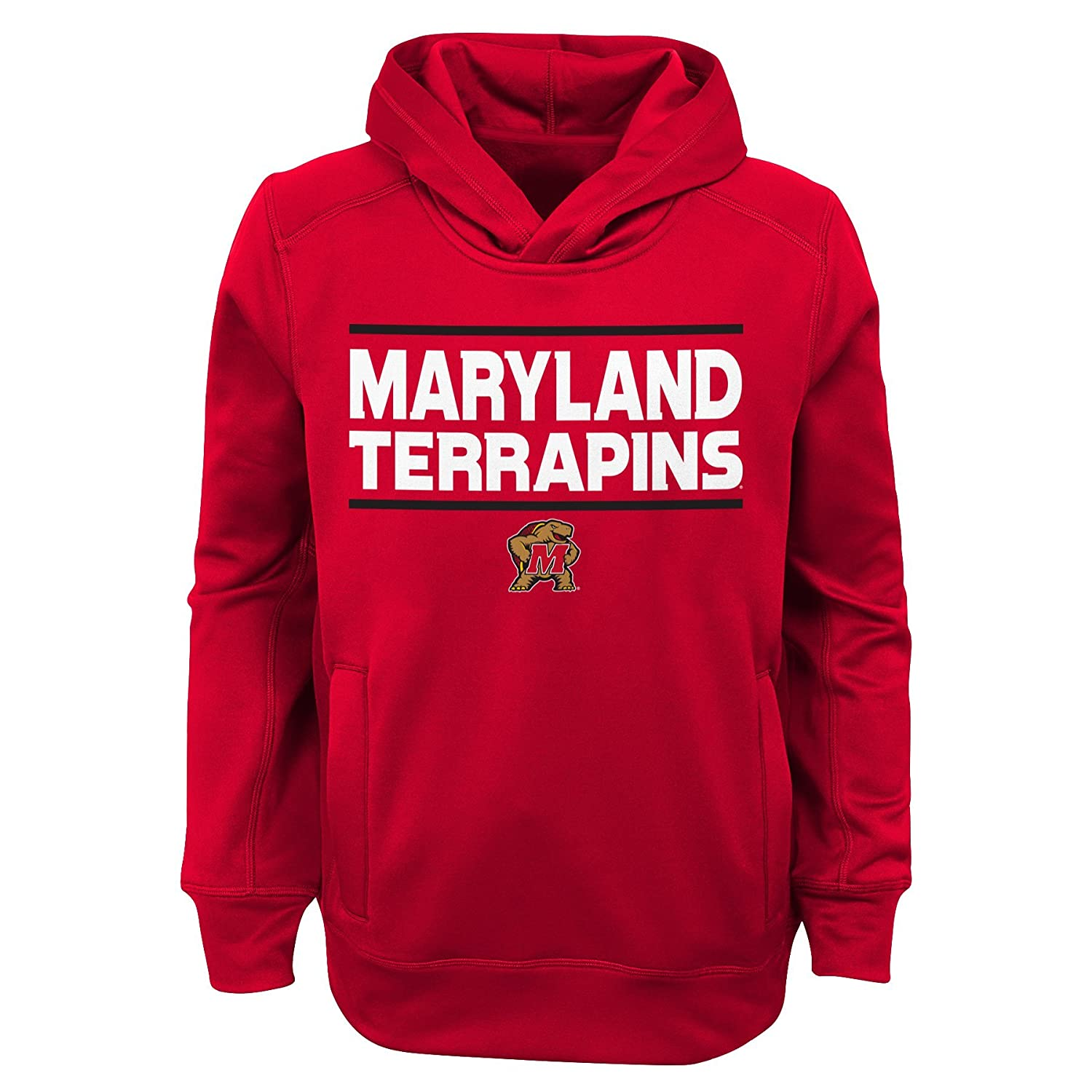 Red Youth Boys Medium (1012) NCAA Boys NCAA Youth Boys Performance Hoodie