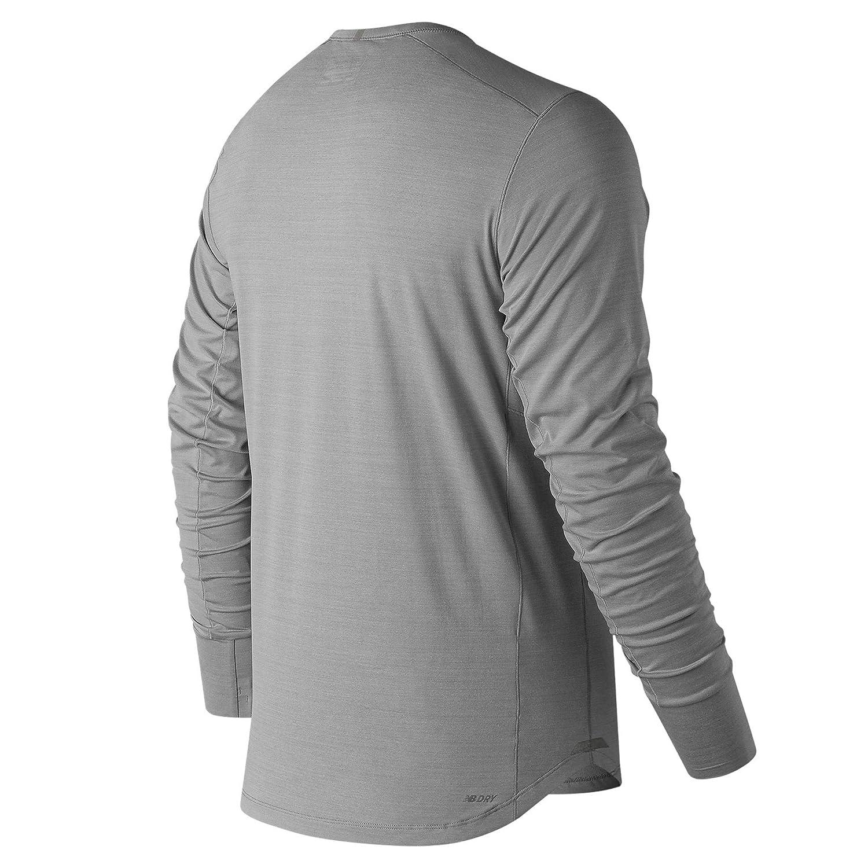 new balance mens long sleeve running top