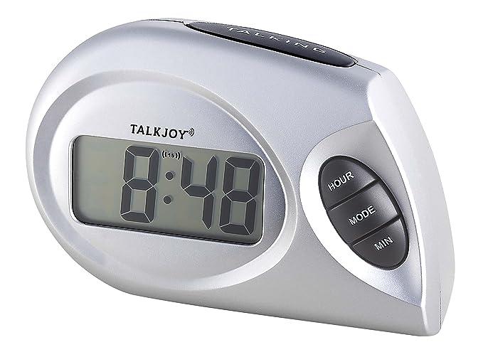Profesional mesa Reloj Parlante con función de voz Avisos en tiempo muñeca reloj Personas Mayores: Amazon.es: Relojes