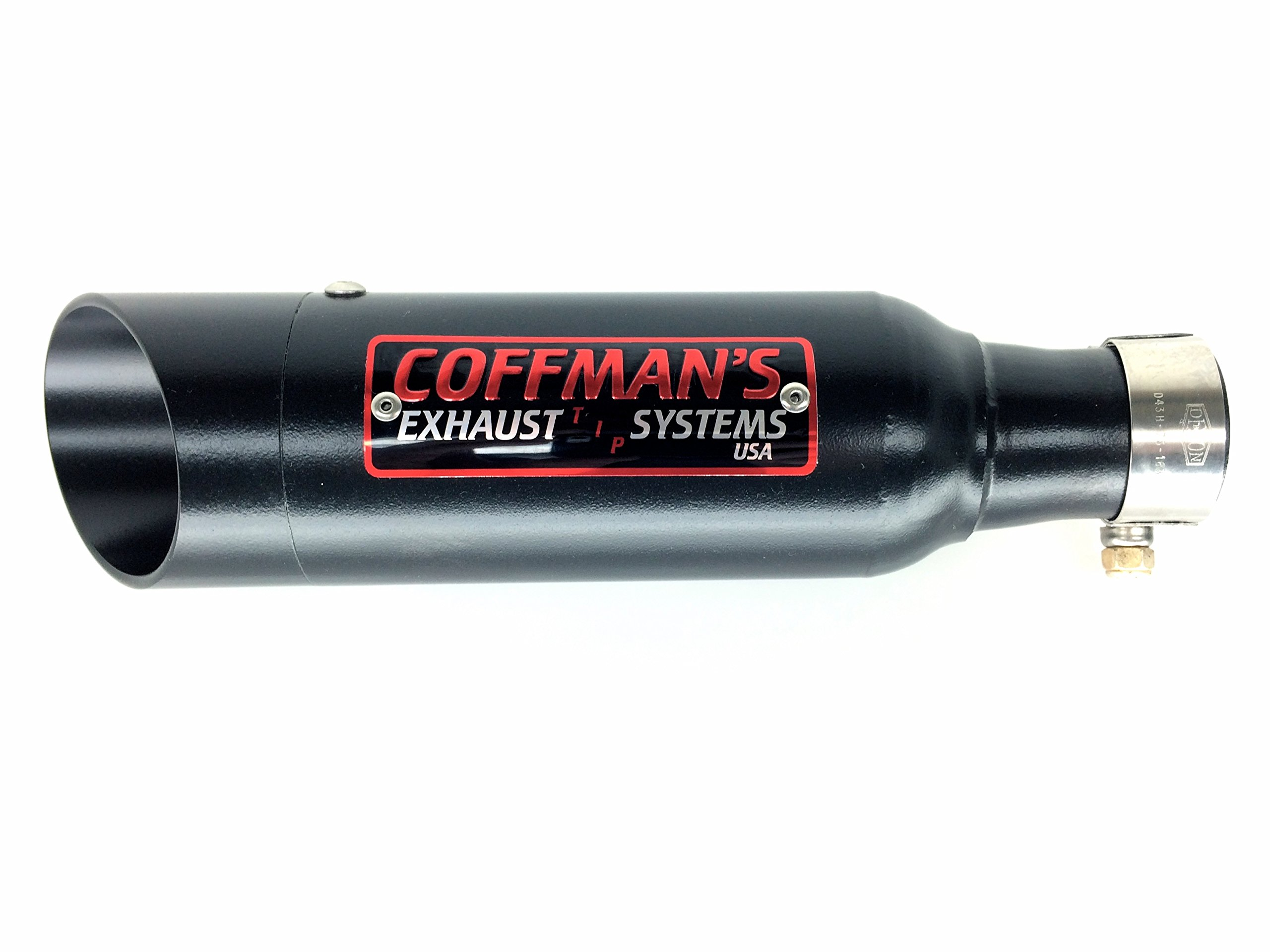 Coffman's Shorty Exhaust for Yamaha R6 (1999-02) Sportbike with Black Tip