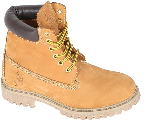 U.S.POLO ASSN. US Polo Association - Botas de Piel Para Mujer Amarillo  Amarillo Amarillo Size  37  Amazon.es  Zapatos y complementos da63fd63e9f14