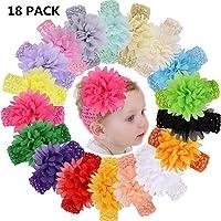 PUBAMALL diadema para bebé, cintas para niñas para recién nacidos, niños pequeños y niños (10)