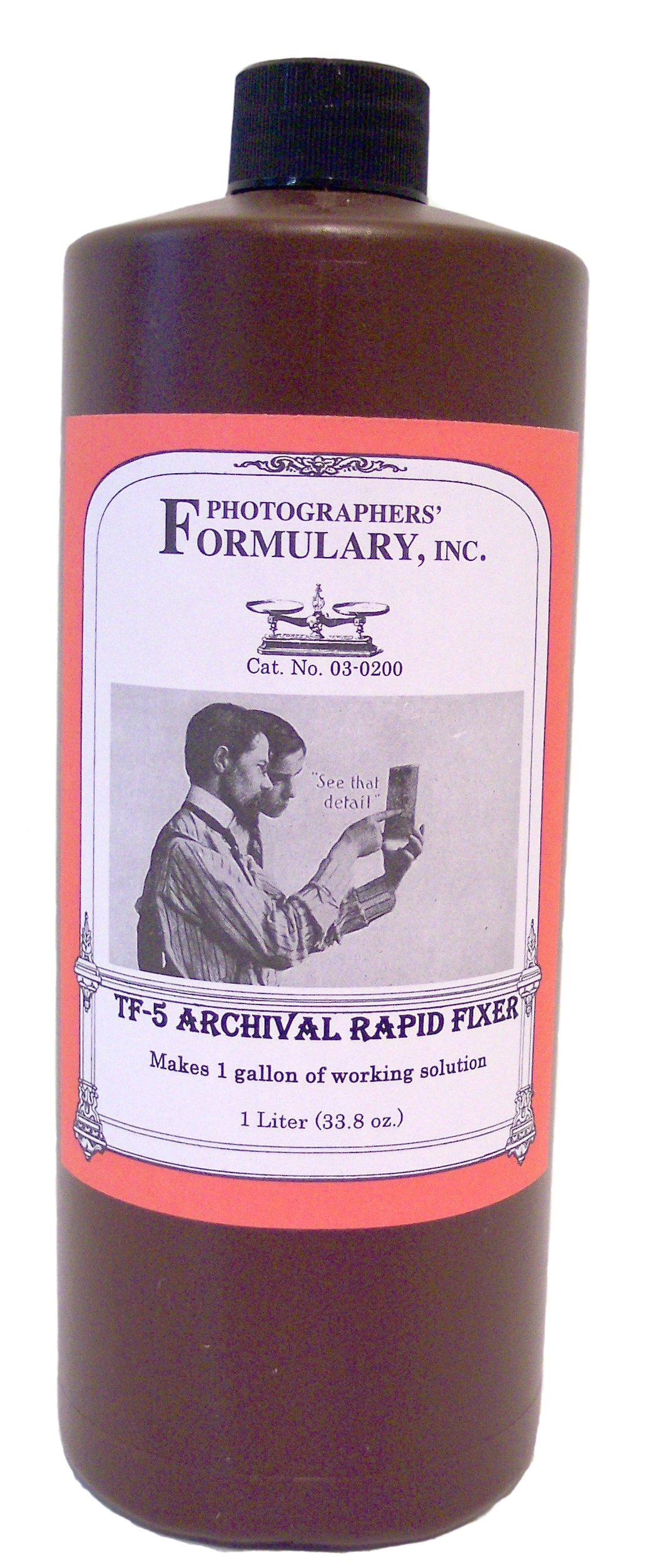 Photographers' Formulary 03-0200 TF-5 Archival Rapid Fixer for Darkroom by Photographers' Formulary