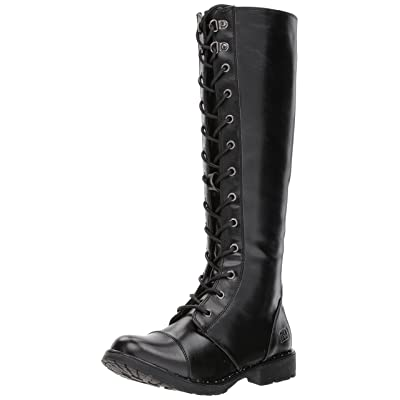Amazon.com | Dirty Laundry Women's Roset Combat Boot | Knee-High