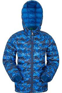 b681beb7a Mountain Warehouse Seasons Boys Padded Jacket - Water Resistant Rain ...
