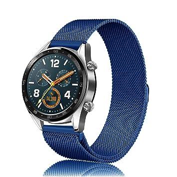 FINTIE Bracelet pour Huawei Watch GT/Huawei Watch GT Active - Bracelet de Remplacement de