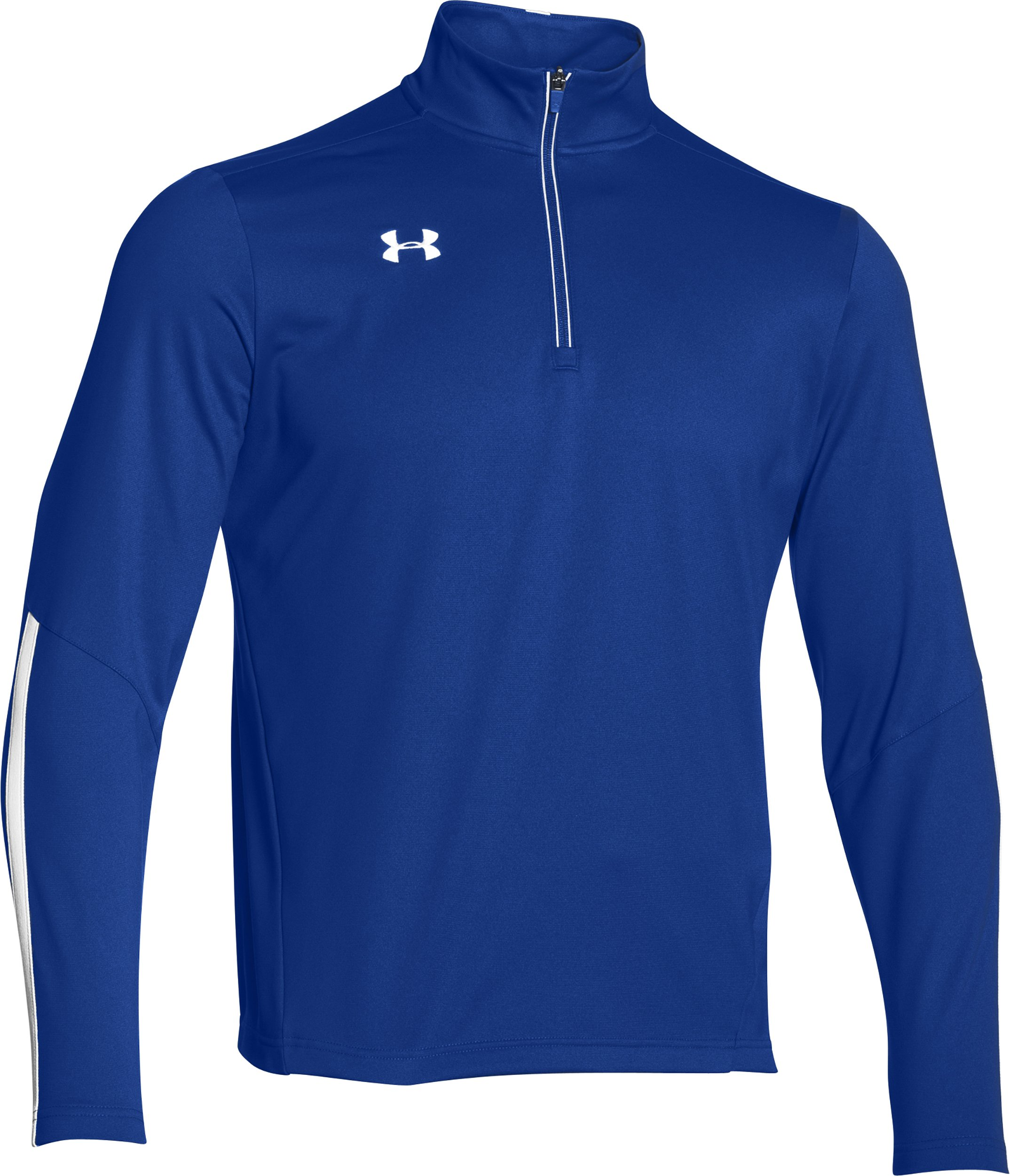 Under Armour Men's Qualifier 1/4 Zip Pullover (Small, Royal/White) by Under Armour