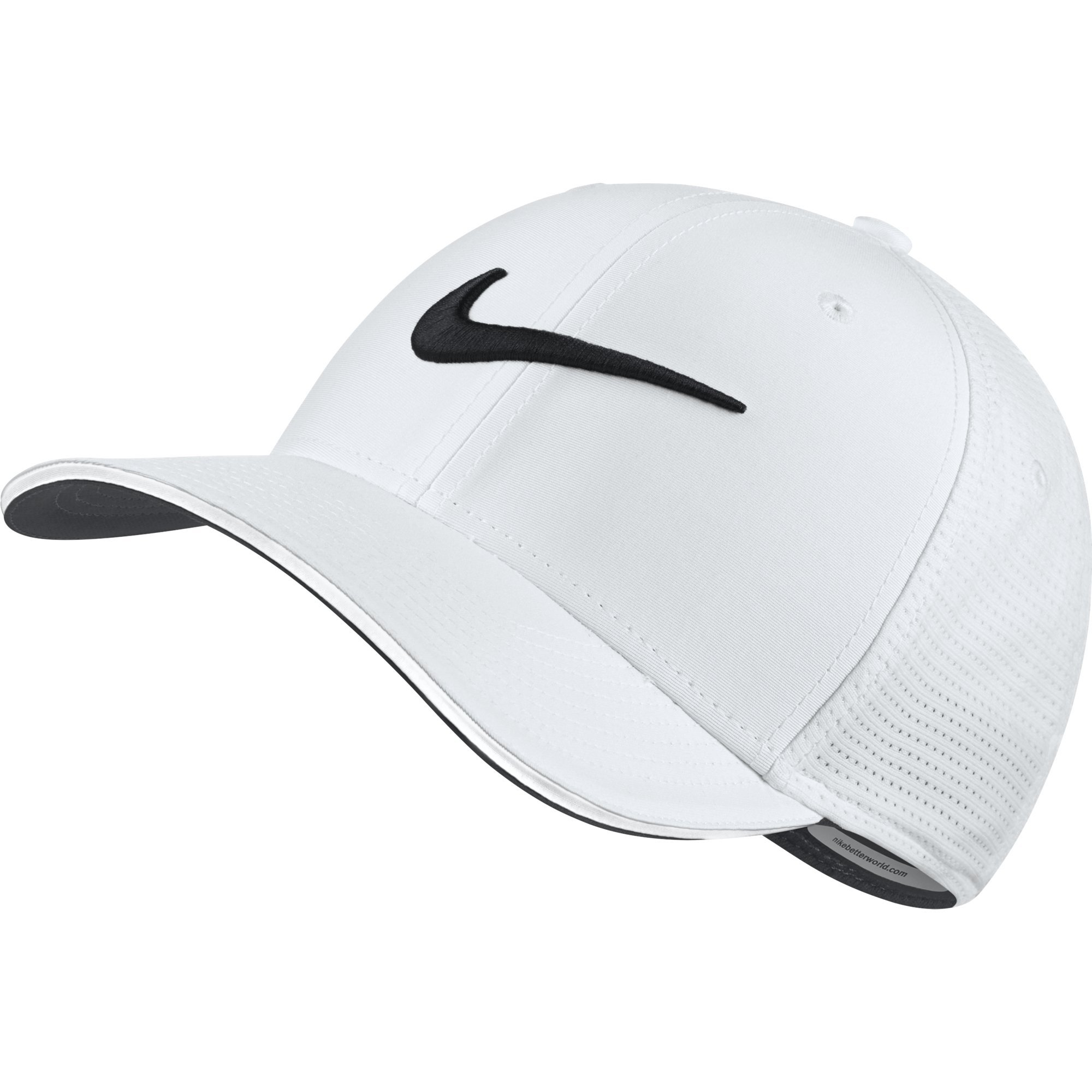 NIKE Unisex Classic 99 Mesh Golf Cap, White/White/Anthracite/Black, Medium/Large