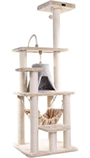 Lovely Armarkat Cat Tree Furniture Condo, Height  60 Inch To 70 Inch
