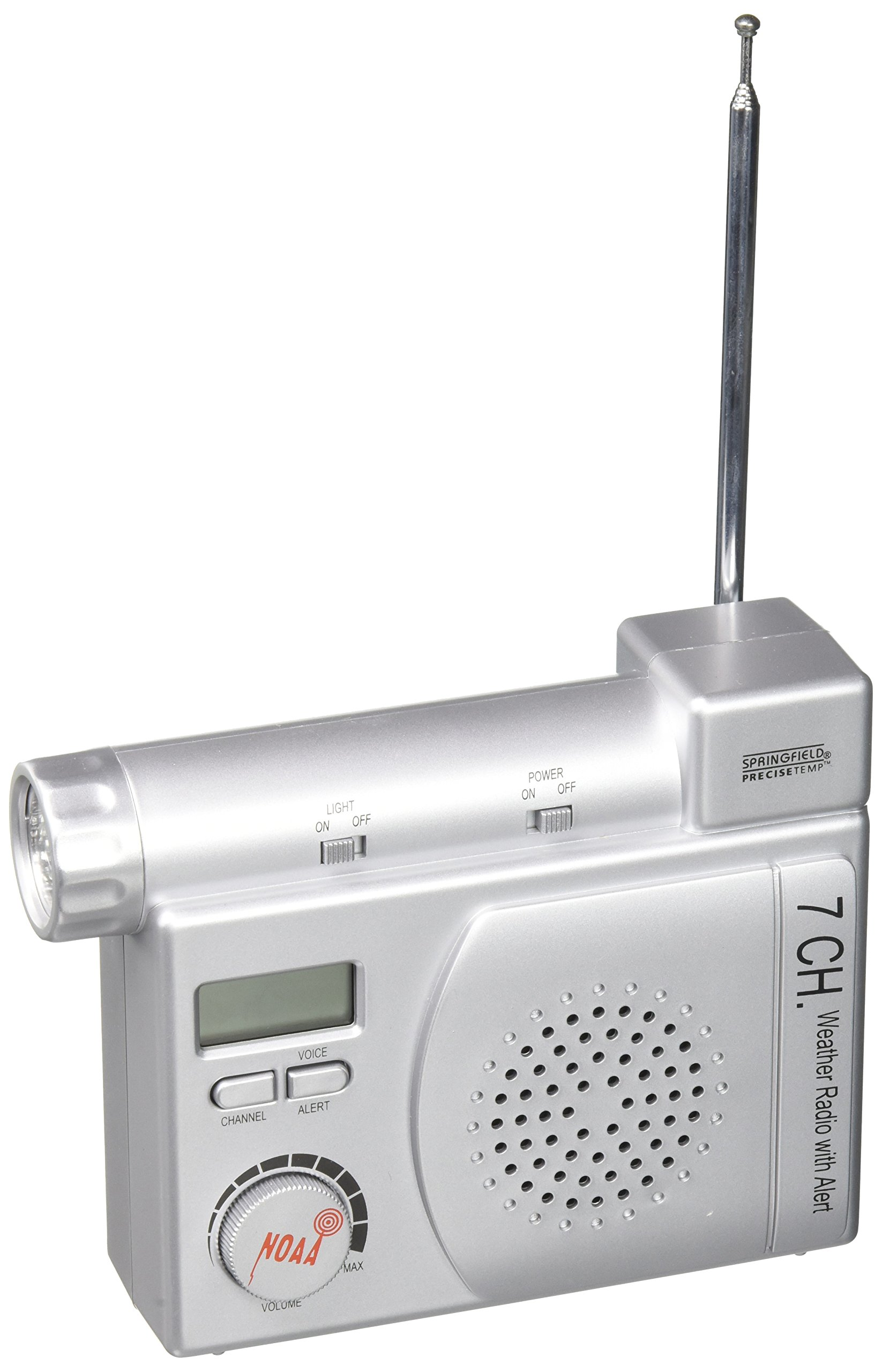 Springfield NOAA Weather Radio with Alert