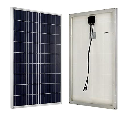 front facing eco-worthy 100 watt solar panels for rv