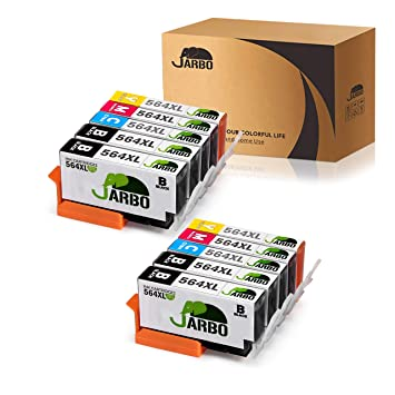 JARBO 4 Color Compatible Ink Cartridge Replacement for Printer ink