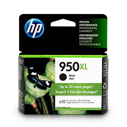amazon com hp 950xl cn045an ink cartridge black for