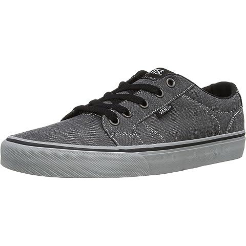 9dcaab6c29 Vans Men s Bishop Textile Ankle-High Canvas Fashion Sneaker