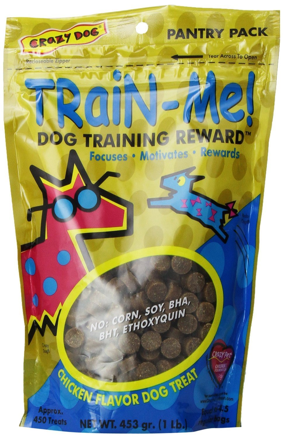 Train-Me Training Reward Treats 32oz Chicken