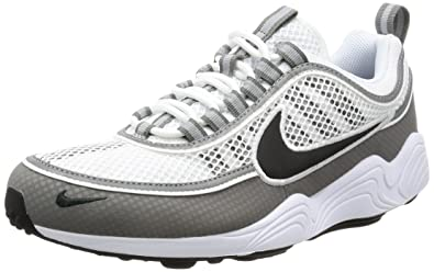 458fa1395ec8d Nike Mens Air Zoom Breathable Workout Running Shoes White 8.5 Medium (D)