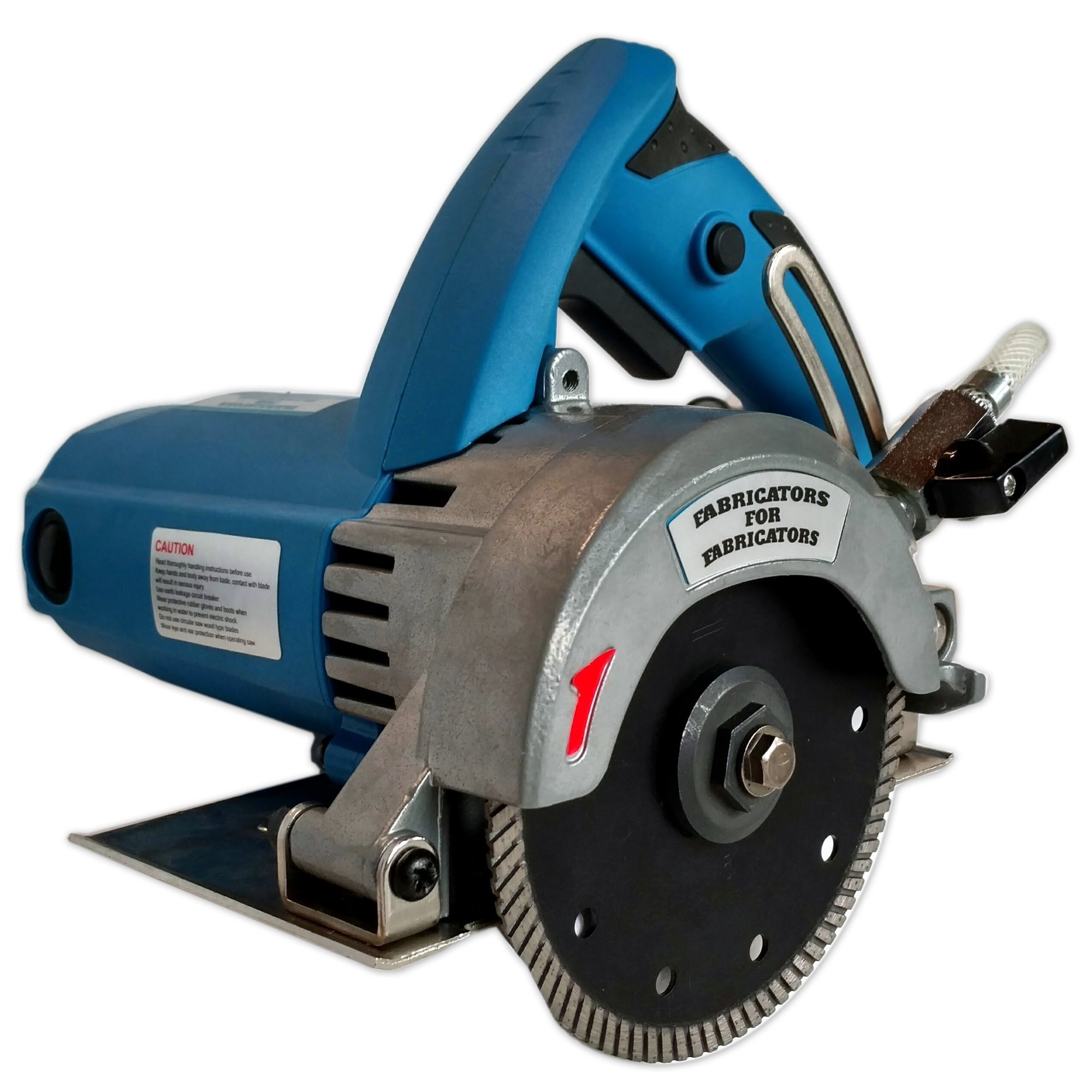 FAB-125 A. Heavy-Duty 2.2HP Stone Cutter 5-inch Contour or Flat Blade Wet/Dry for stone, tile and masonry by Fabricators for Fabricators LLC,