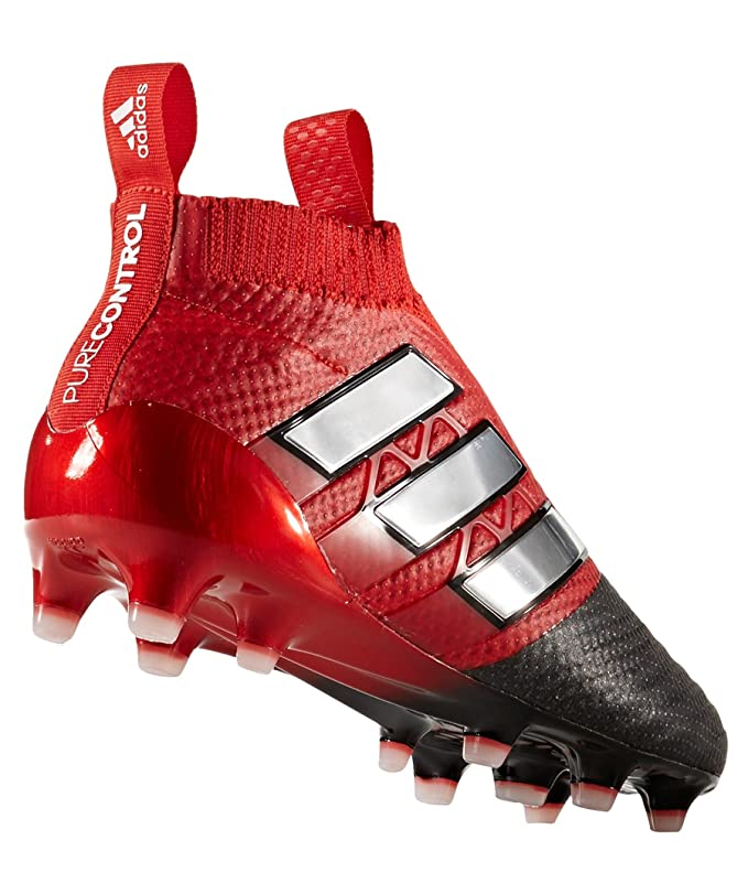 huge selection of dec40 fbed7 Adidas Ace 17+ Purecontrol rojo Limit FG botas de fútbol para niños  Amazon.es Deportes y aire libre