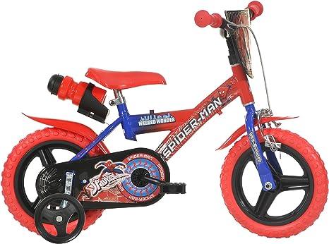 Dino Bikes 12-Inch Spider Man Childrens Bike: Amazon.es: Deportes ...
