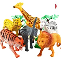 Funny Teddy Educational Learning Game Wild Realistic Animal Toy Set with Jungle Wallpaper (Waetve354Rxtaeyeyhcse) - Pack of 20