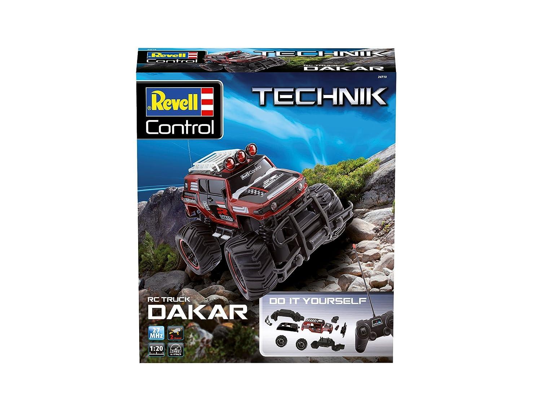 Revell Control 24710/ /Telecomando Offroader per Facile da Montare Facile da Montare /RC Kit Dakar con Grande e Pneumatici Grip/ /Technik RC Auto Kit Dakar con 27/MHz Remote Control/