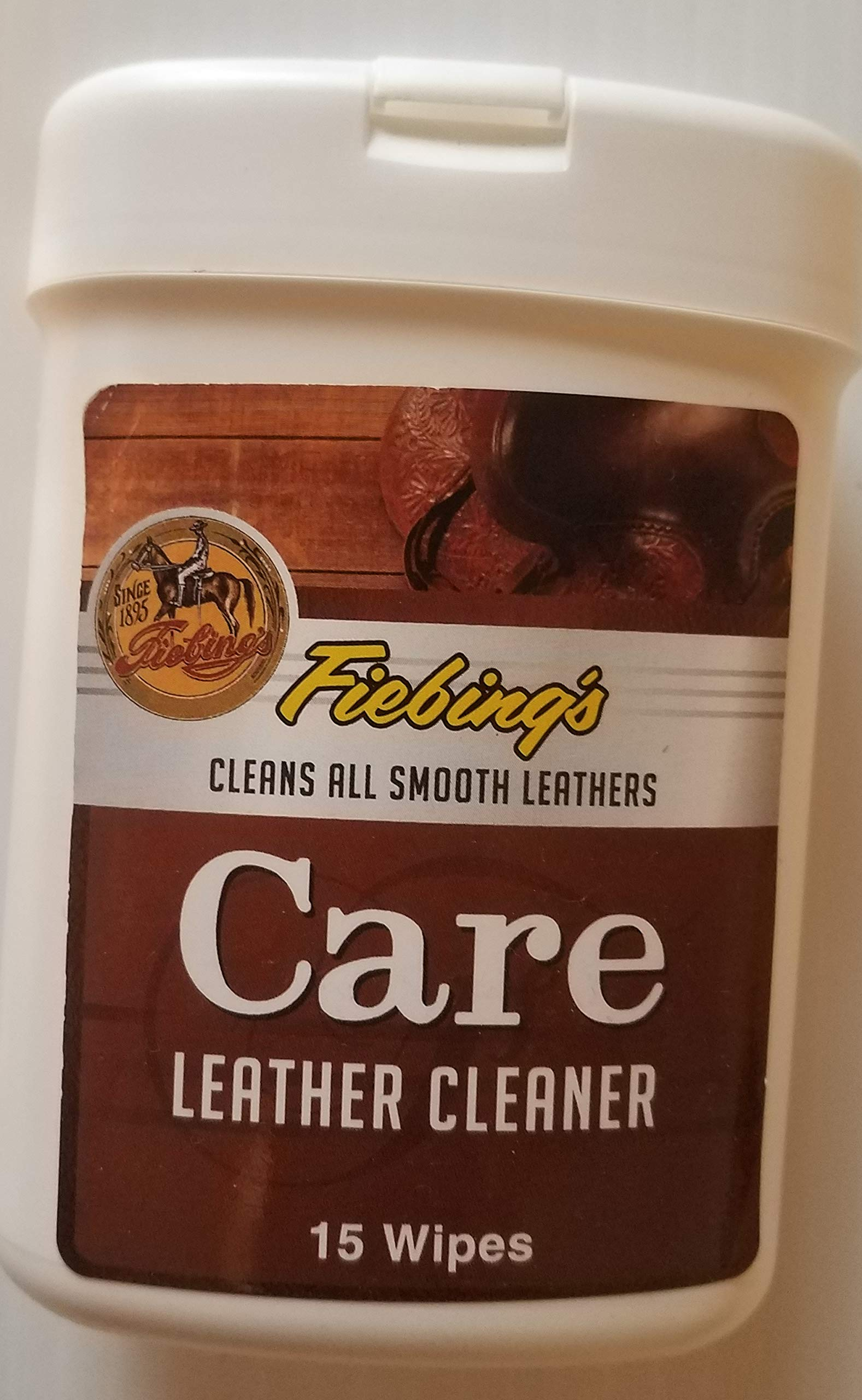Fiebing's Care Leather Cleaner Wipes by Fiebing's