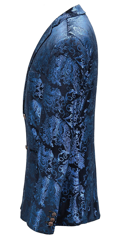 96dc9a5c4b9f MOGU Royal Blue Blazer Men at Amazon Men's Clothing store: